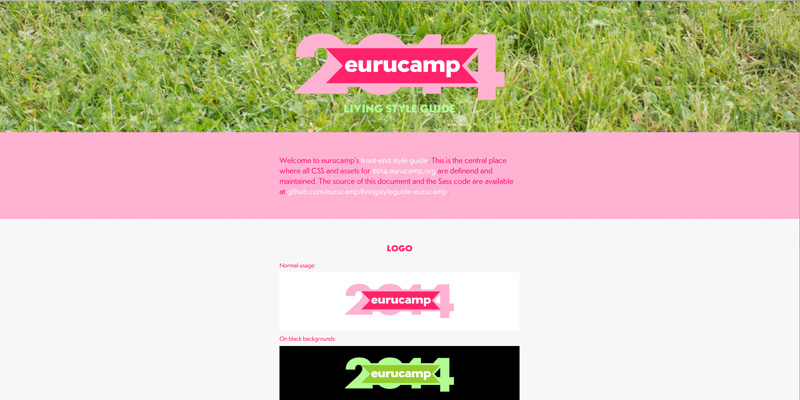 Eurucamp 2014 Living Style Guide