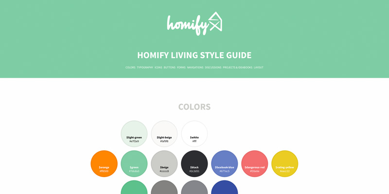 Homify Living Style Guide