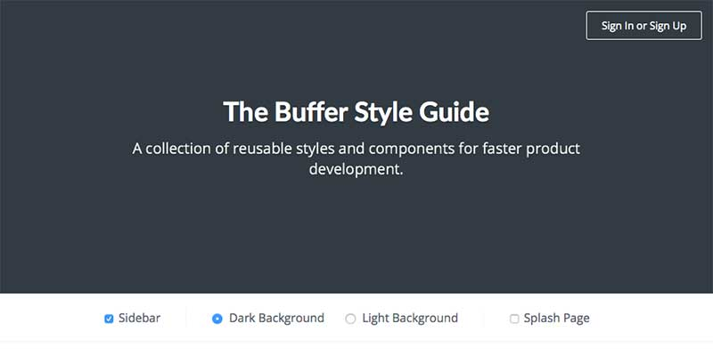 Buffer Style Guide