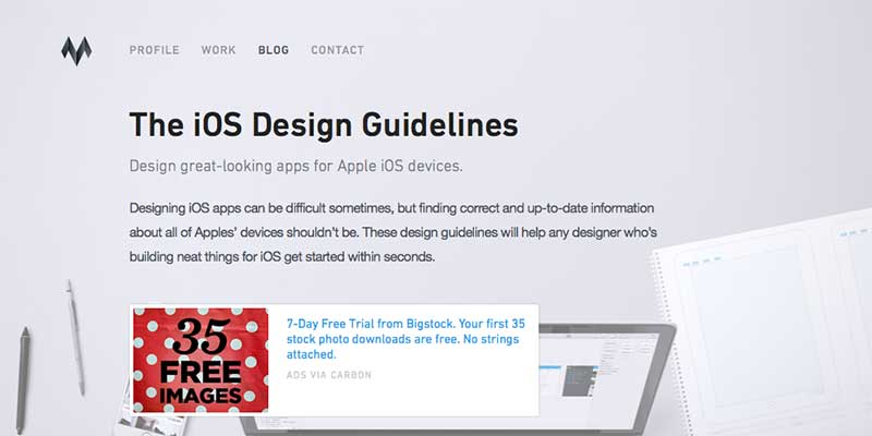 iOS Design Guidelines
