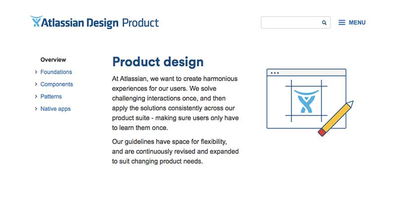 Atlassian Product Design Guidelines