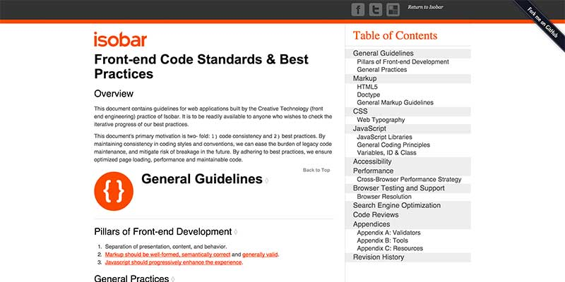 Front-end Code Standards & Best Practices