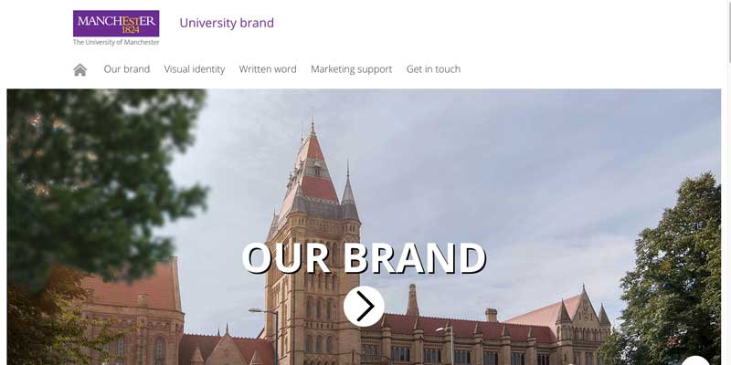 University of Manchester Brand Guidelines