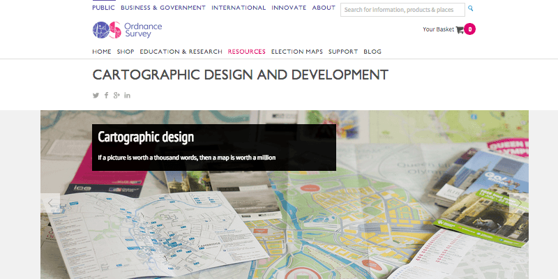 Ordnance Survey - Cartographic Design and Development